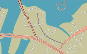 Straßenplan mit Illustrator